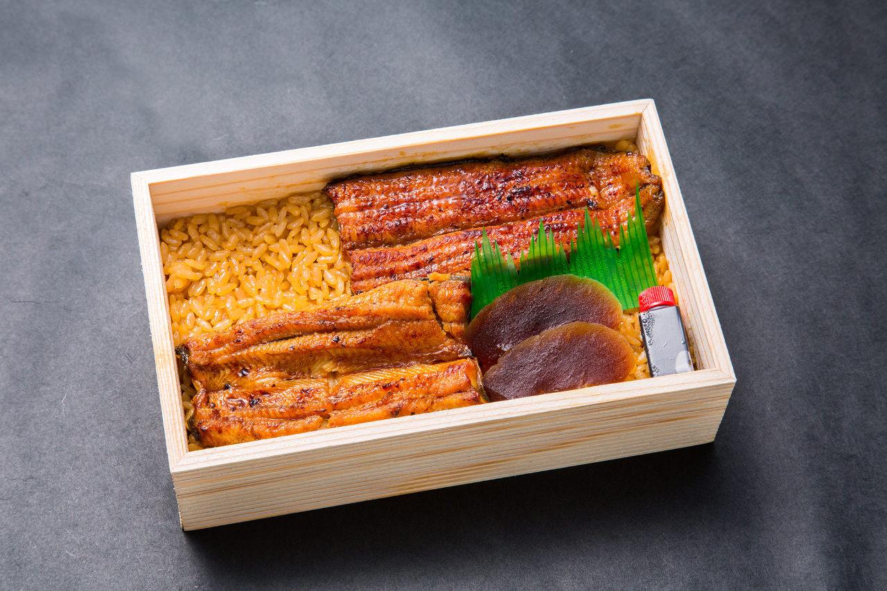 鰻折弁当 竹